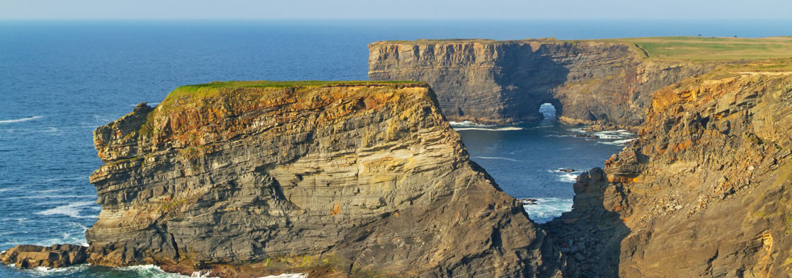 Cliffs near Kilkee