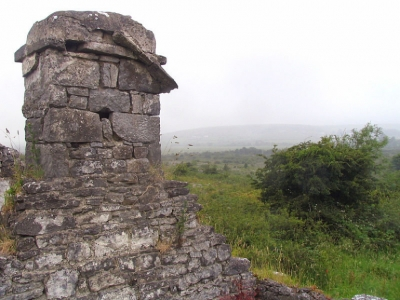 Stone Monument on The Burren