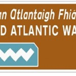 wild atlantic way road sign