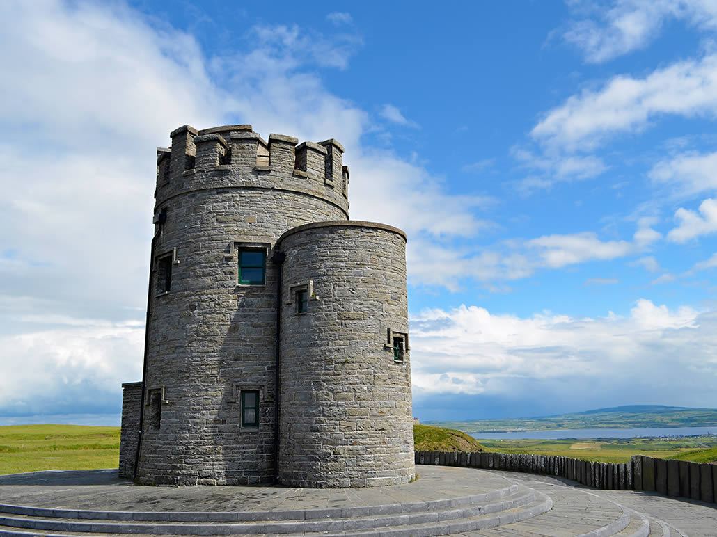 O'Briens Tower at The Cliffs of Moher