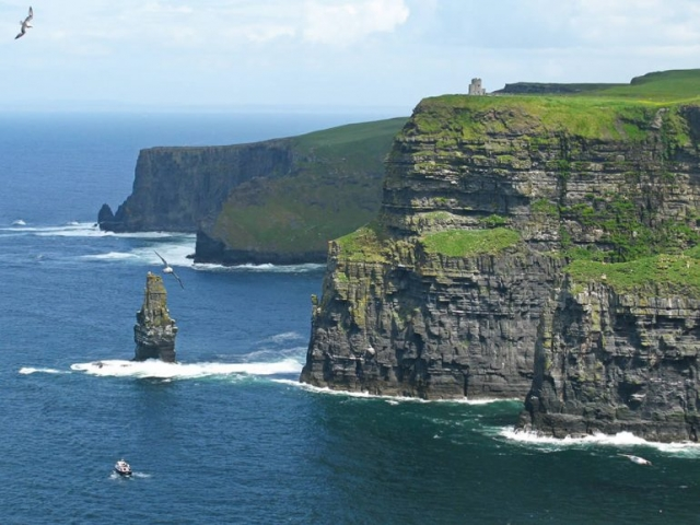 Sea Stack at Cliffs of Moher