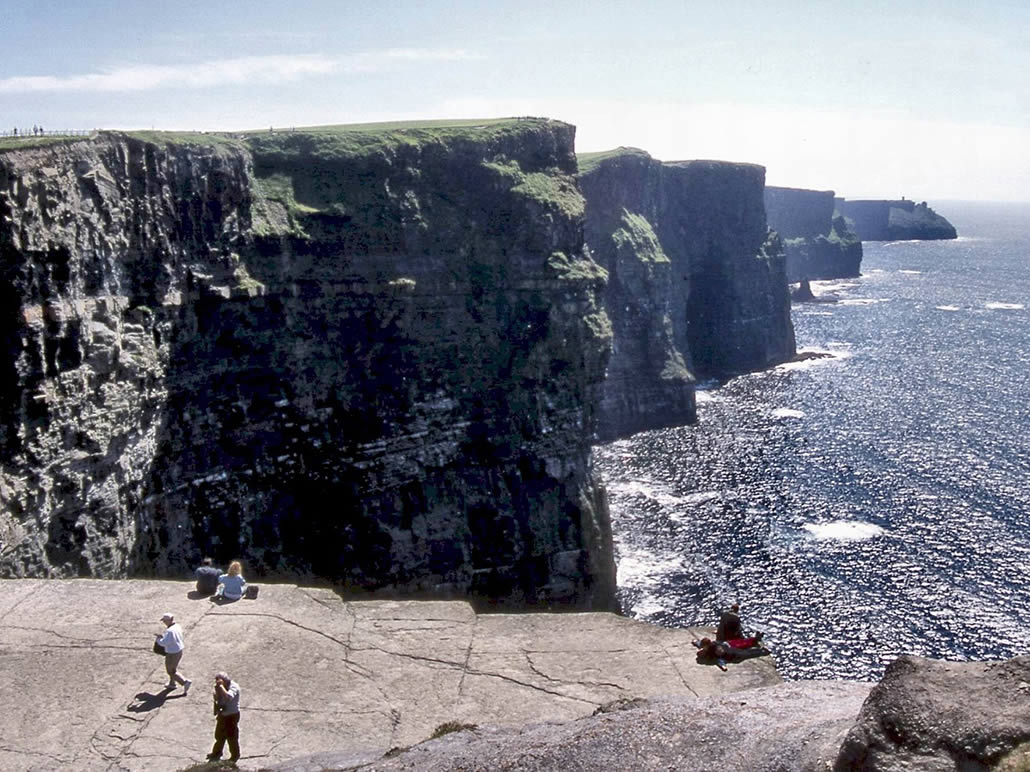 Viewing The Cliffs of Moher