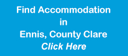 Find accommodation in ennis