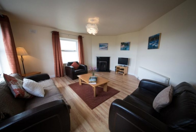 self catering Doolin Village Lodges lounge 2