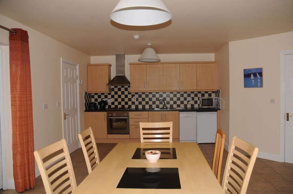Doolin Village Lodges dining room kitchen