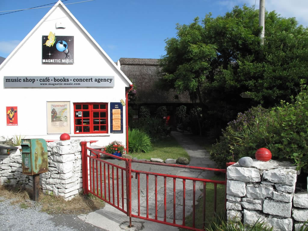 music shop and cafe doolin