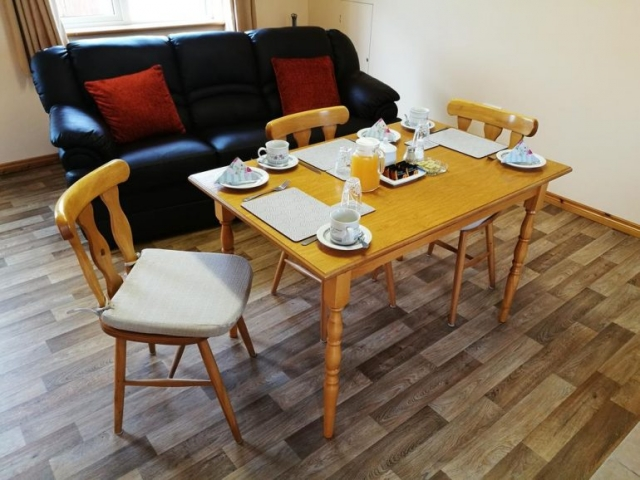 Danubio Doonbeg self catering breakfast