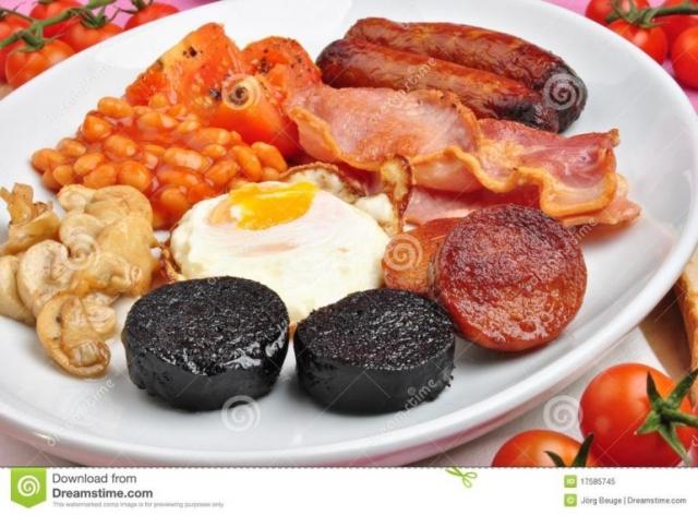 Ennis Auburn Lodge Breakfast