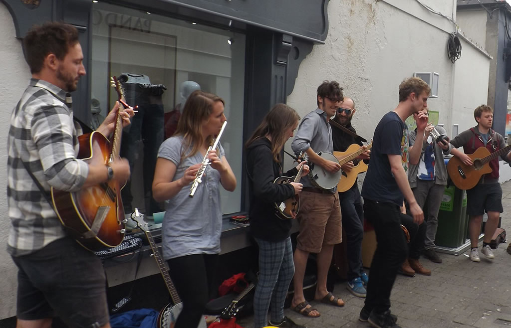 Street Music in Ennis County Clare