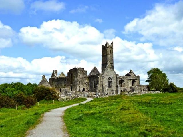 Quinn Abbey near Ennis