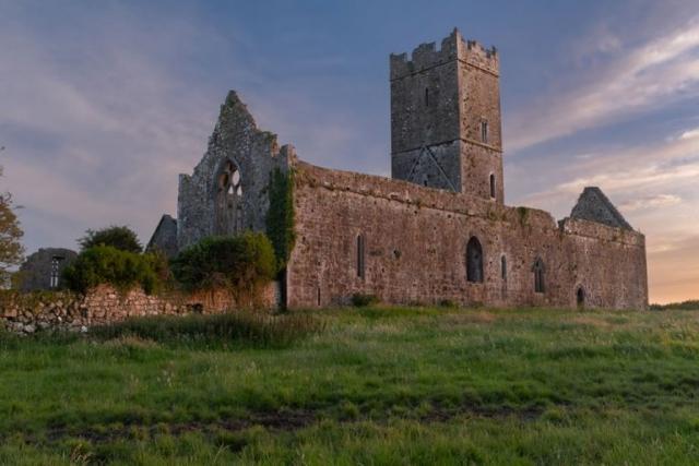 Clare Abbey near Ennis County Clare