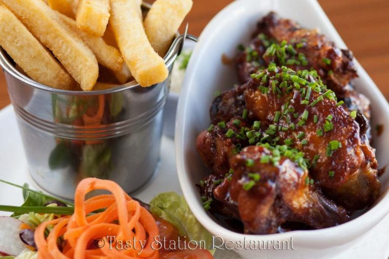 Tasty-Station Restaurant Lahinch dish
