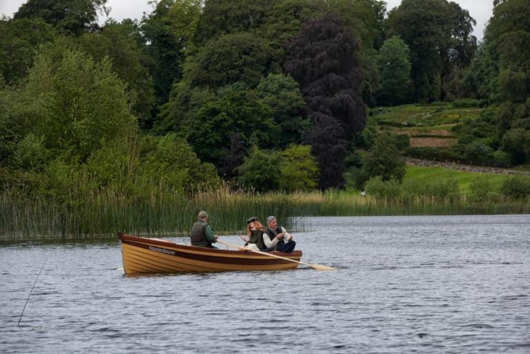 on the lake at dromoland castle
